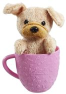 Animagic Tea Cup Pets - Brown Puppy